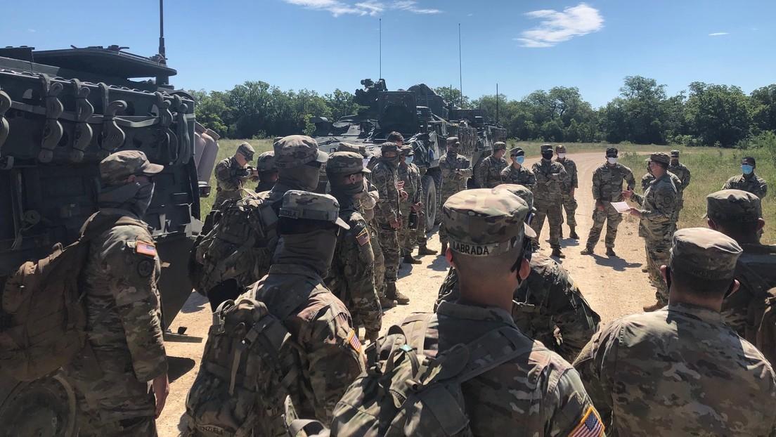 """Descubren en Texas """"restos no identificados"""" durante la búsqueda de una soldado desaparecida"""