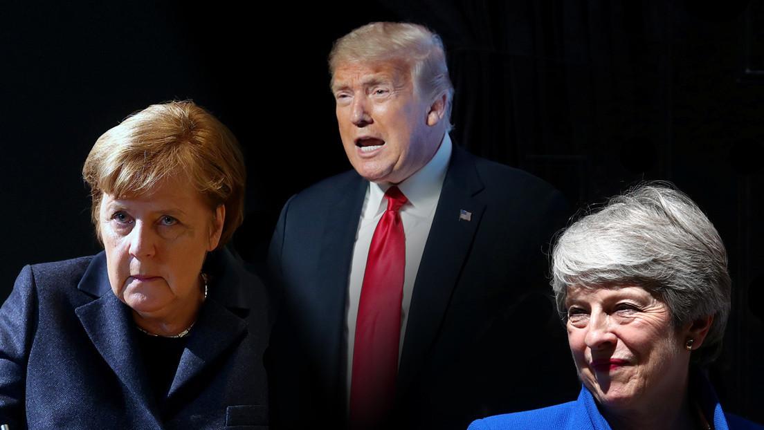 """CNN: Trump insultaba por teléfono a líderes extranjeros, entre ellos Angela Merkel y Theresa May, con diatribas """"casi sádicas"""""""