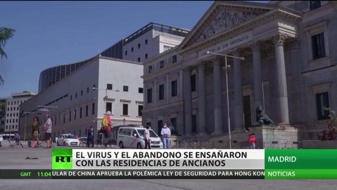 """Activista por la defensa de las pensiones en España: """"Algunos ancianos víctimas del coronavirus estuvieron 3 días muertos en su habitación"""""""