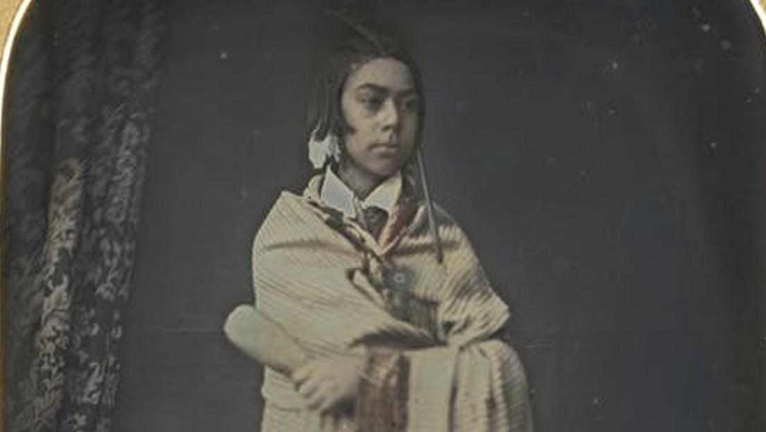 Hallan la fotografía más antigua conocida de un nativo de Nueva Zelanda
