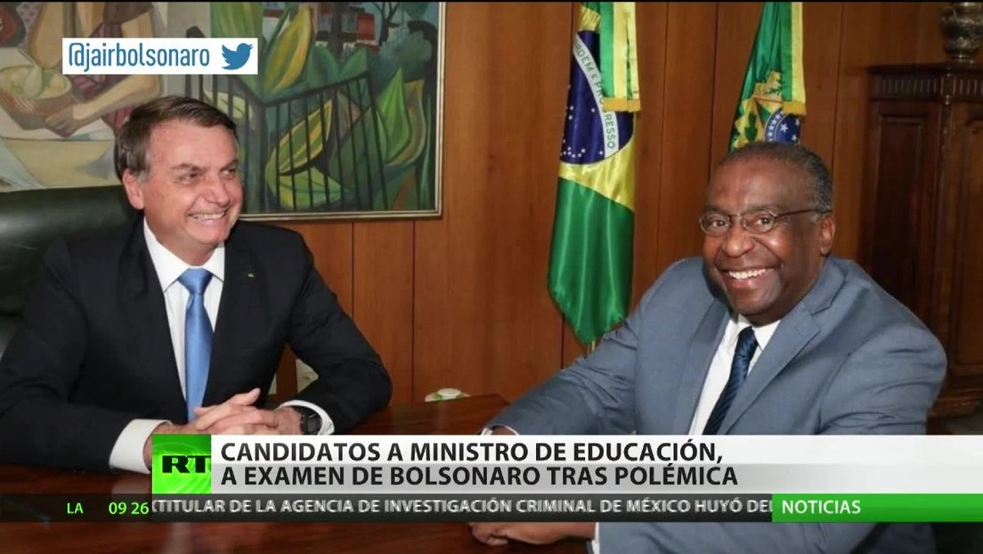 Candidatos a ministro de Educación, a examen de Bolsonaro tras una polémica