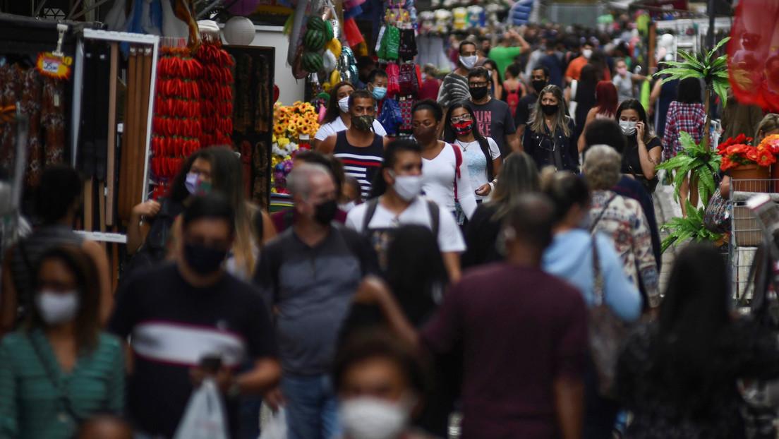 Brasil confirma otras 1.280 muertes por coronavirus en 24 horas y el número de decesos se acerca a 60.000