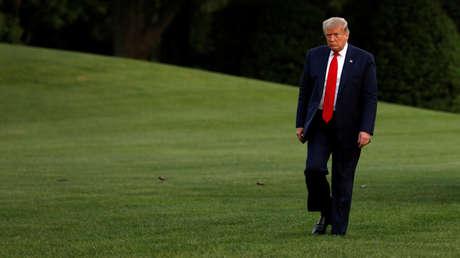 Trump habría permanecido en un búnker subterráneo mientras aumentaban las protestas frente a la Casa Blanca