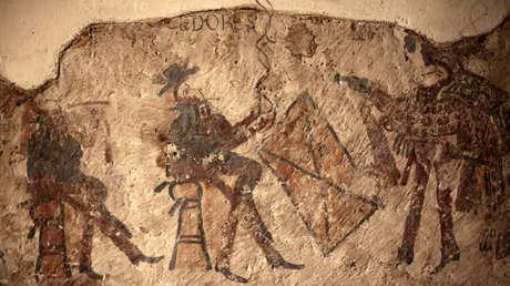Descubren tres murales mayas de la época colonial durante la reforma de una casa en Guatemala