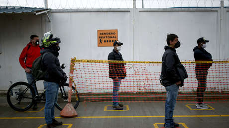 Colombia acumula 43.682 casos confirmados de coronavirus y 1.433 decesos