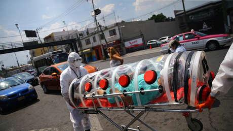 México rebasa las 15.000 muertes por coronavirus y ya suma 129.184 casos confirmados