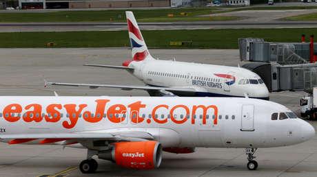 British Airways, EasyJet y Ryanair inician acciones legales contra el Gobierno del Reino Unido debido a las restricciones por coronavirus