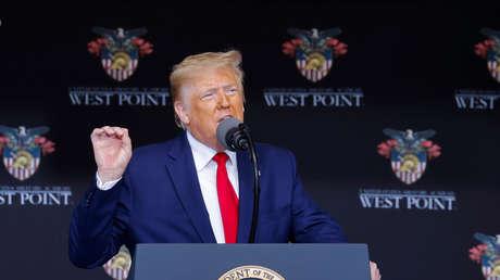 """Trump revela nuevos detalles del """"requete-súper misil"""" desarrollado por EE.UU."""