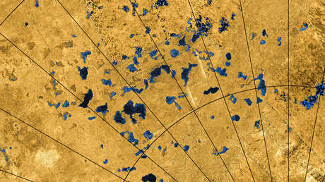 Descubren el origen de los reflejos en la superficie del mayor satélite de Saturno