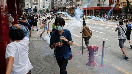 """China: """"Los planes de Taiwán de refugiar a los alborotadores de Hong Kong solo perjudicarán a la población de la isla"""""""