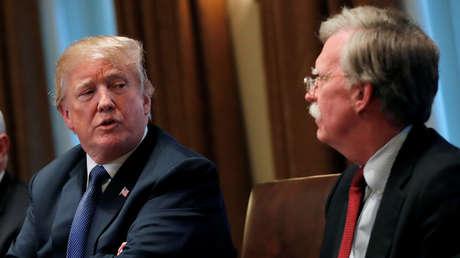 Trump arremete contra Bolton por la publicación de su polémico libro sobre la Casa Blanca