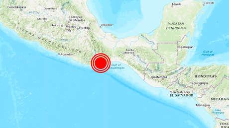Sismo de magnitud 7,5 sacude México