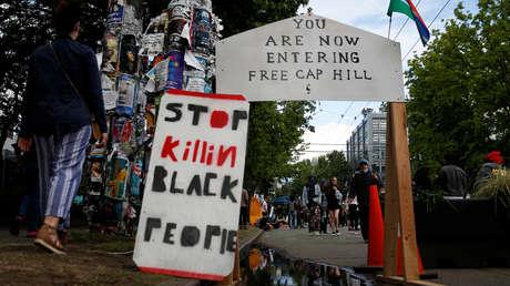 Activista japonés visita la 'zona autónoma' de Seattle para demostrar que es pacífica y sale con un ojo morado