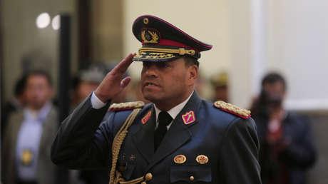 El jefe de las Fuerzas Armadas de Bolivia, ingresado en un hospital con coronavirus