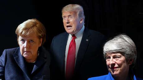 """Trump insultaba por teléfono a líderes extranjeros, entre ellos Angela Merkel y Theresa May, con diatribas """"casi sádicas"""""""