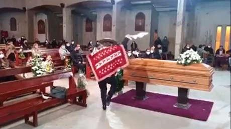 VIDEO: Baila en el funeral de su pareja y se le acusa de incumplir las normas establecidas en Chile por la pandemia