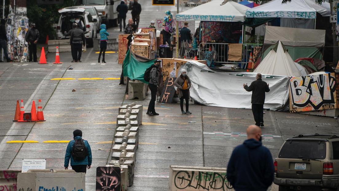 La Policía detiene a los manifestantes y desmantela los restos de la 'Zona Autónoma' de Seattle tras tres semanas