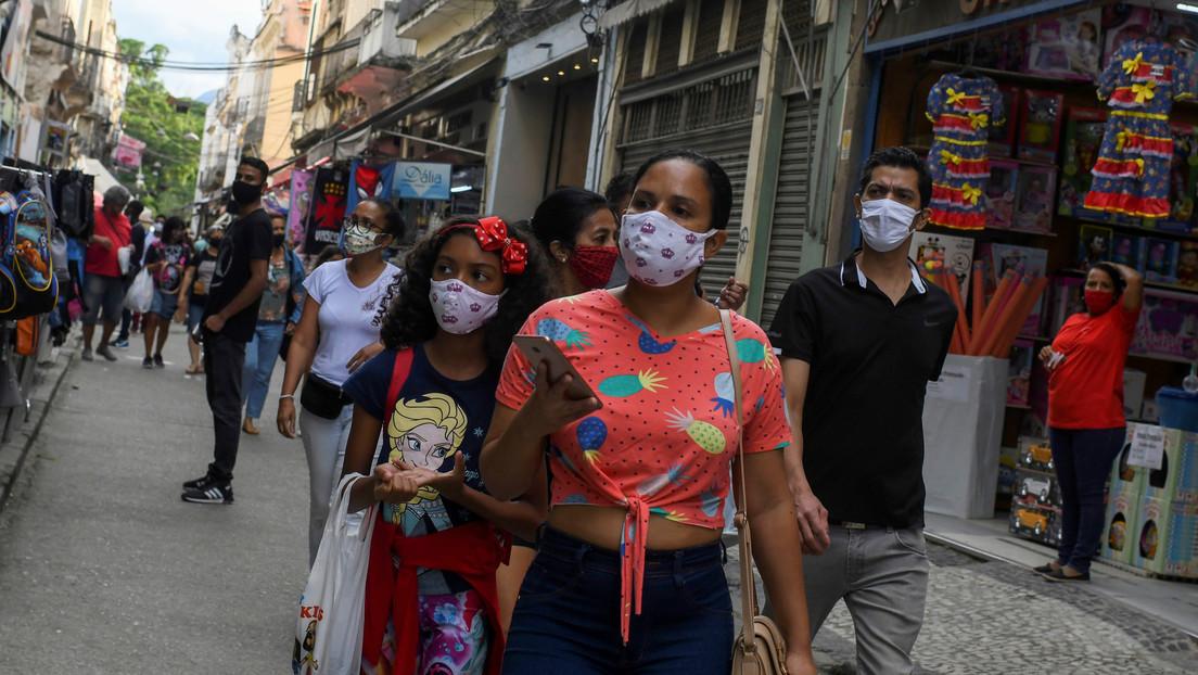 Brasil supera las 60.000 muertes por coronavirus y suma 1.448.753 contagios en total