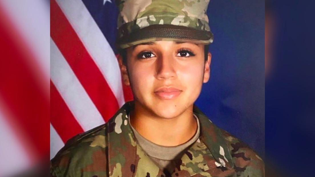 """Abogada de la familia de la desaparecida soldado de EE.UU. Vanessa Guillén anuncia que """"fueron hallados sus restos y un sospechoso se suicidó"""""""