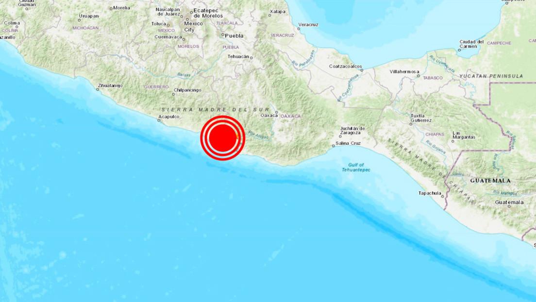 Un sismo de magnitud 5,5 sacude México