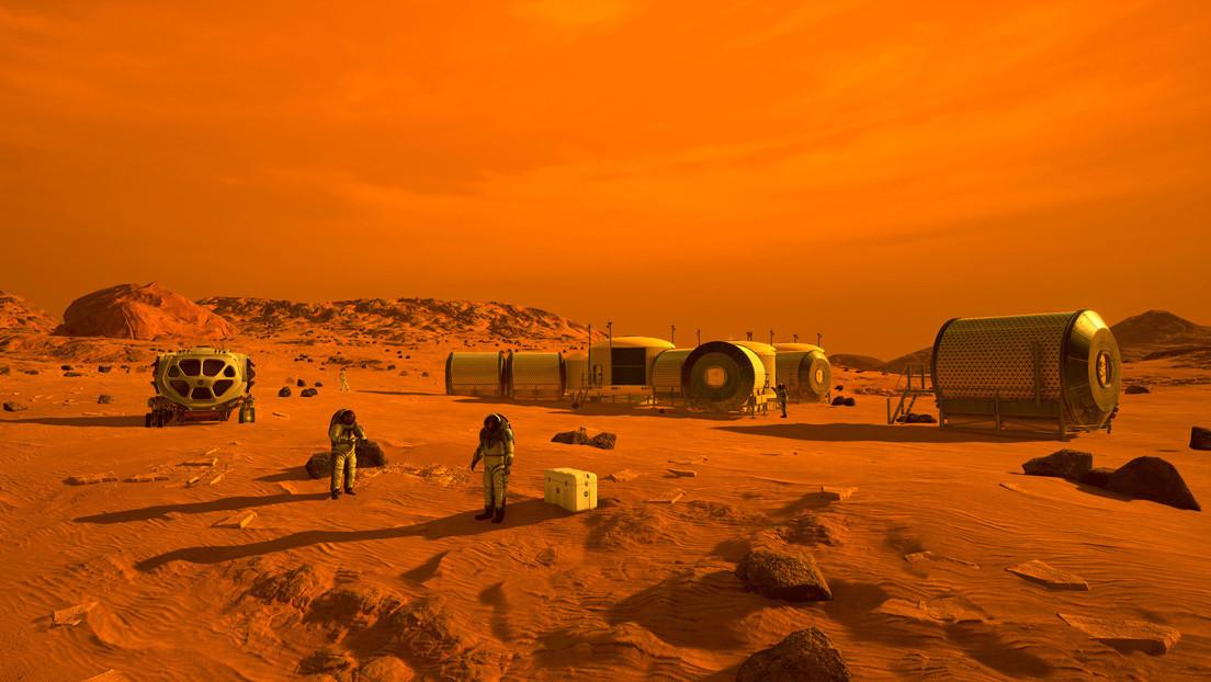 Un estudio señala cuántas personas se necesitarían para empezar a colonizar Marte