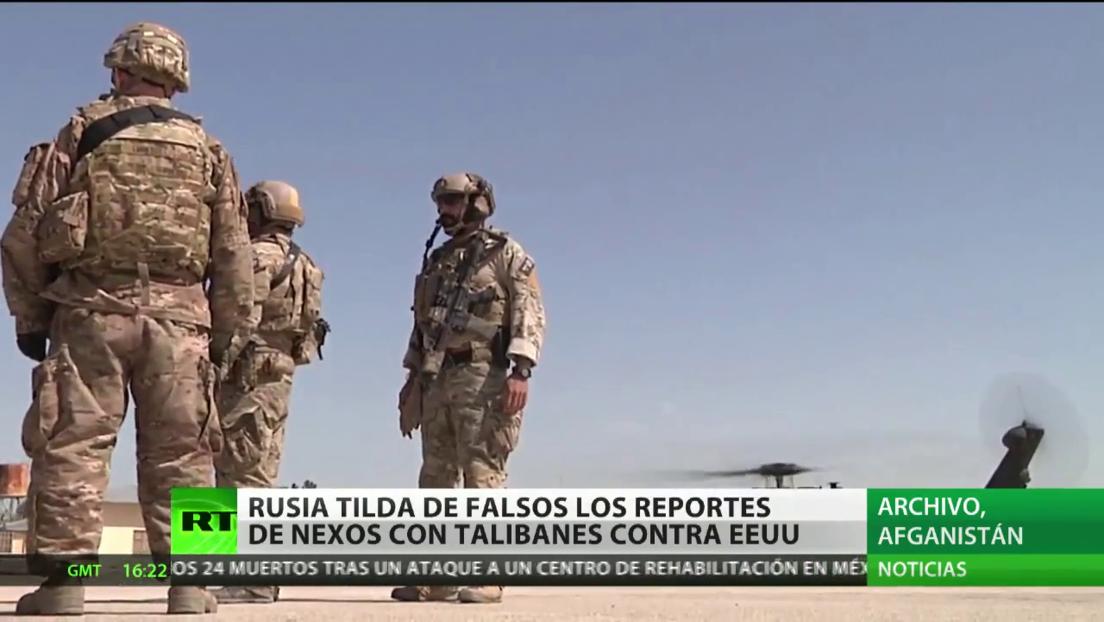 """Zajárova: """"Rusia no tiene nada que ver con el suministro de armas a los talibanes"""""""