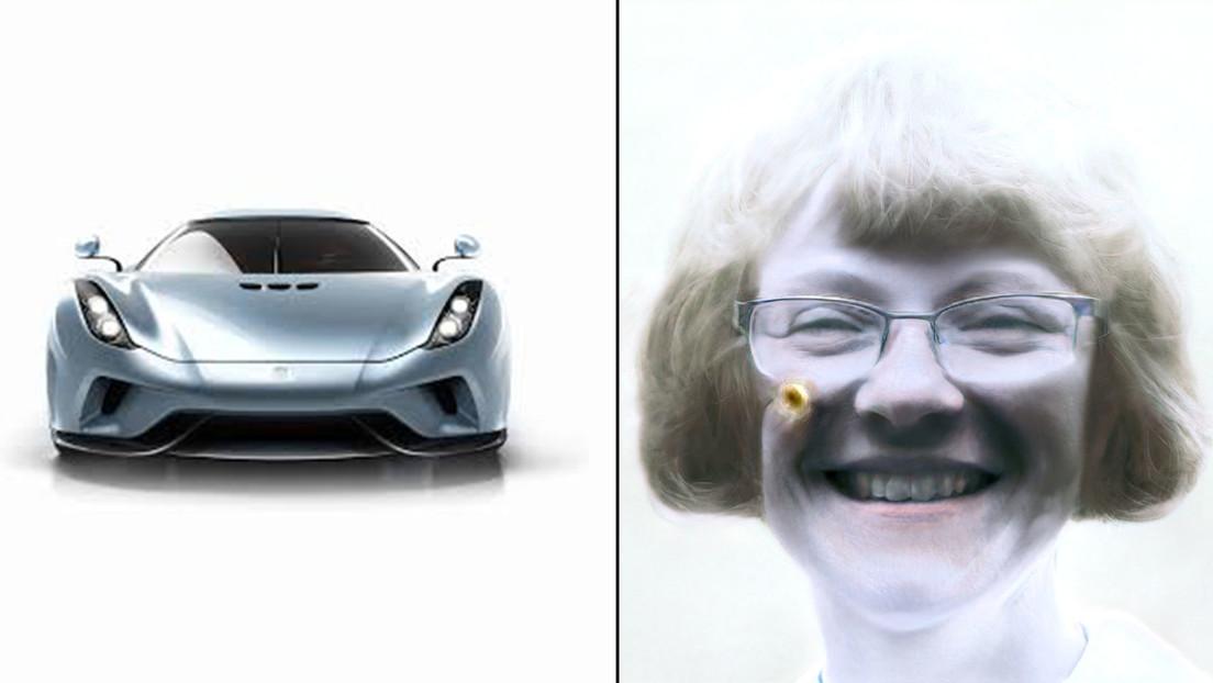 Introducen fotos de coches en una 'app' para mejorar rostros pixelados y este fue el curioso resultado