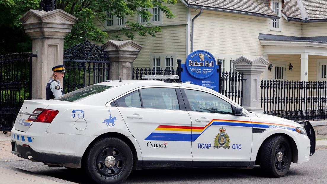 Un miembro de las Fuerzas Armadas es arrestado con armas cerca de las residencias del primer ministro y la gobernadora general de Canadá