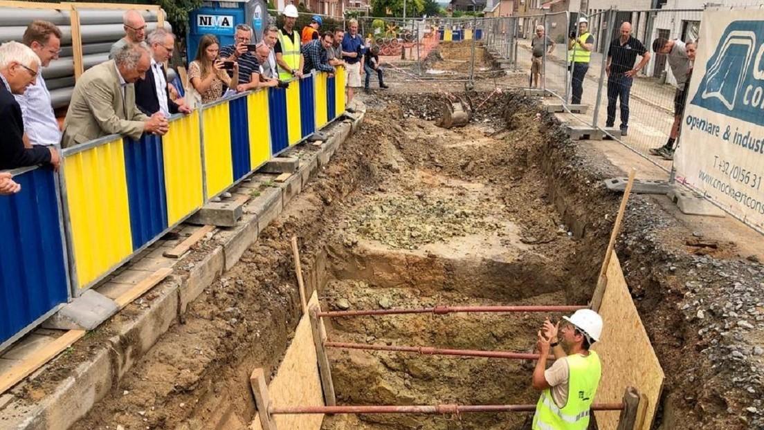 FOTOS: Hallan un sistema de túneles de la I Guerra Mundial, donde probablemente están enterrados docenas de soldados
