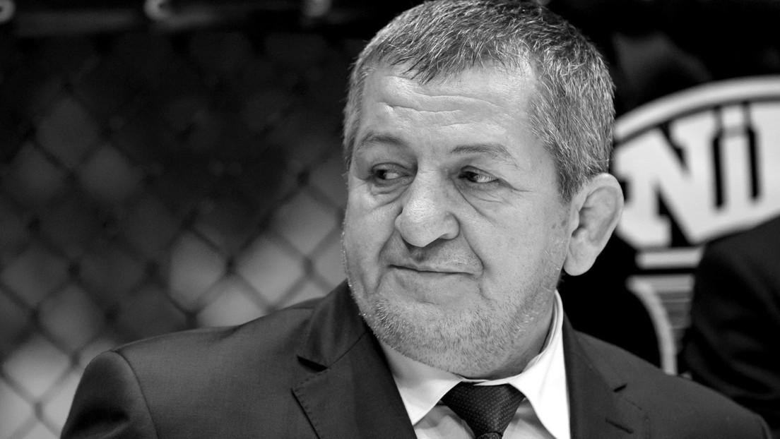 Muere el padre del luchador ruso Khabib Nurmagomédov por complicaciones de coronavirus
