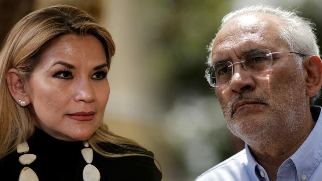 La presidenta de facto de Bolivia busca un pacto con Carlos Mesa para intentar ganarle las elecciones al partido de Evo Morales
