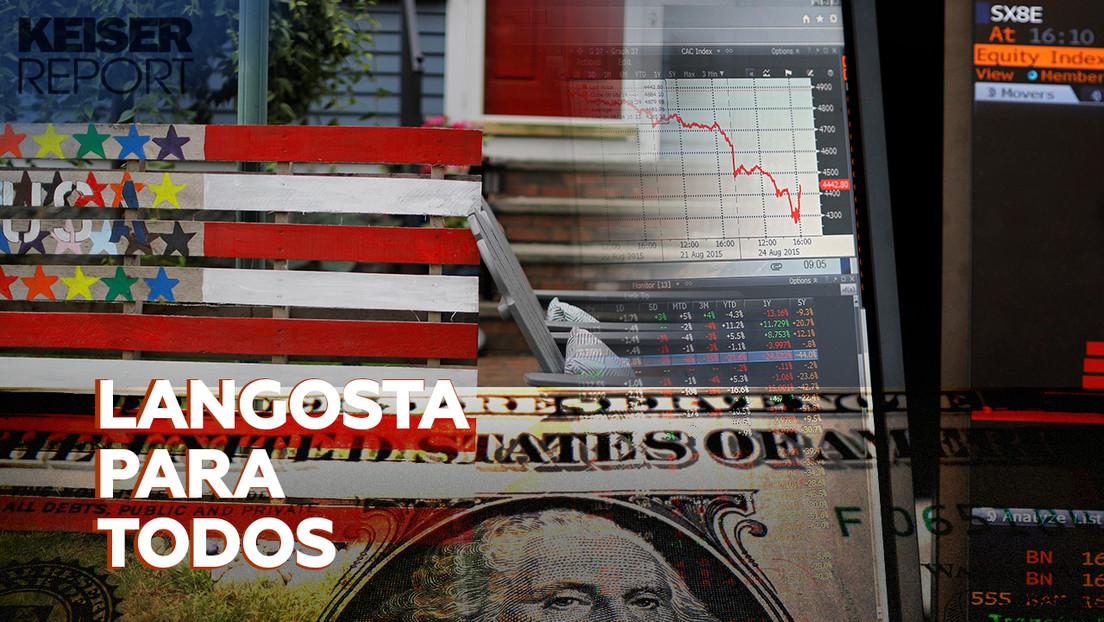 """""""El colapso del dólar será doloroso durante una temporada, pero a la larga beneficiará a casi todo el mundo"""""""