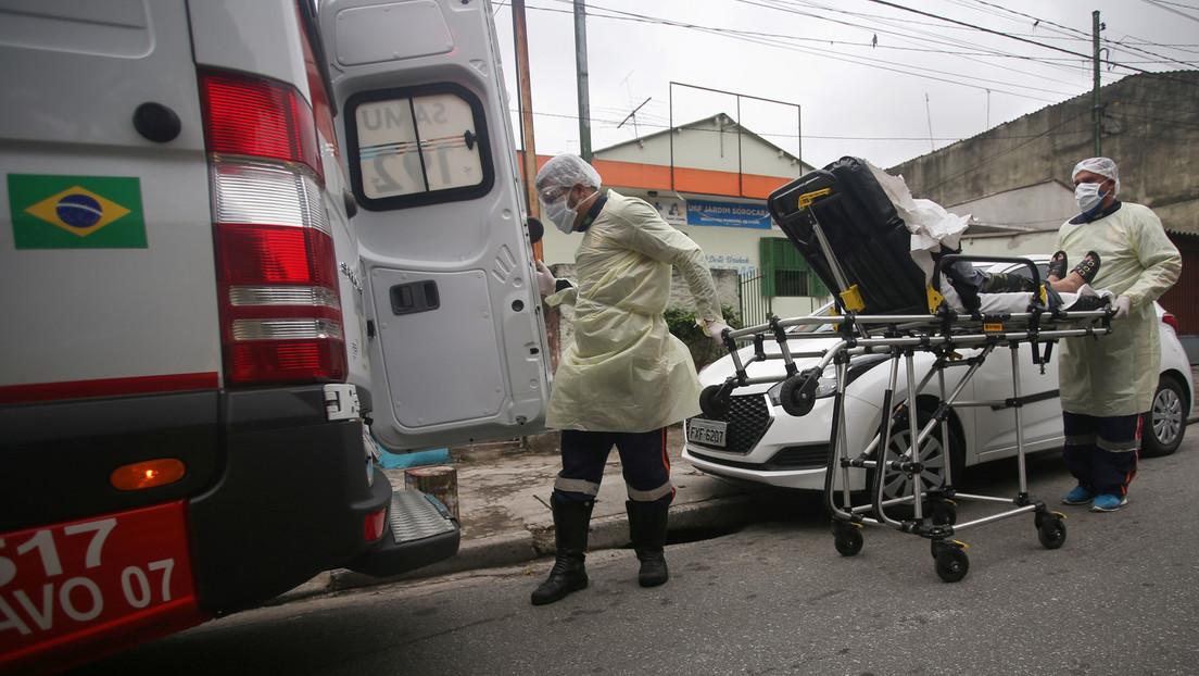 Brasil supera las 64.000 muertes por coronavirus y el número de contagios se eleva a 1.577.004