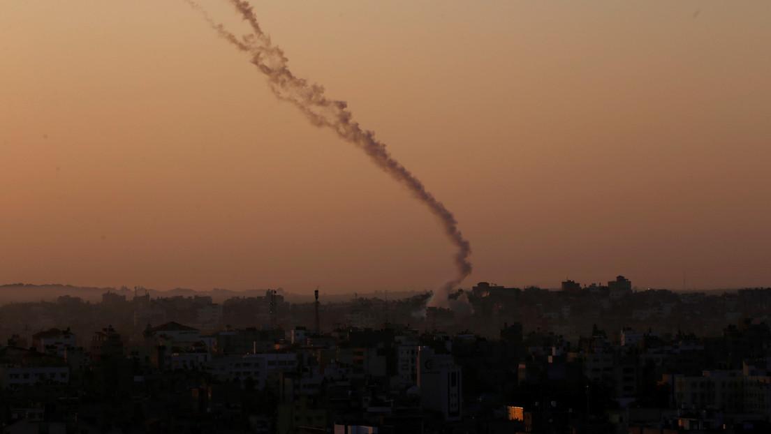 Dos misiles son lanzados desde la Franja de Gaza contra el territorio de Israel