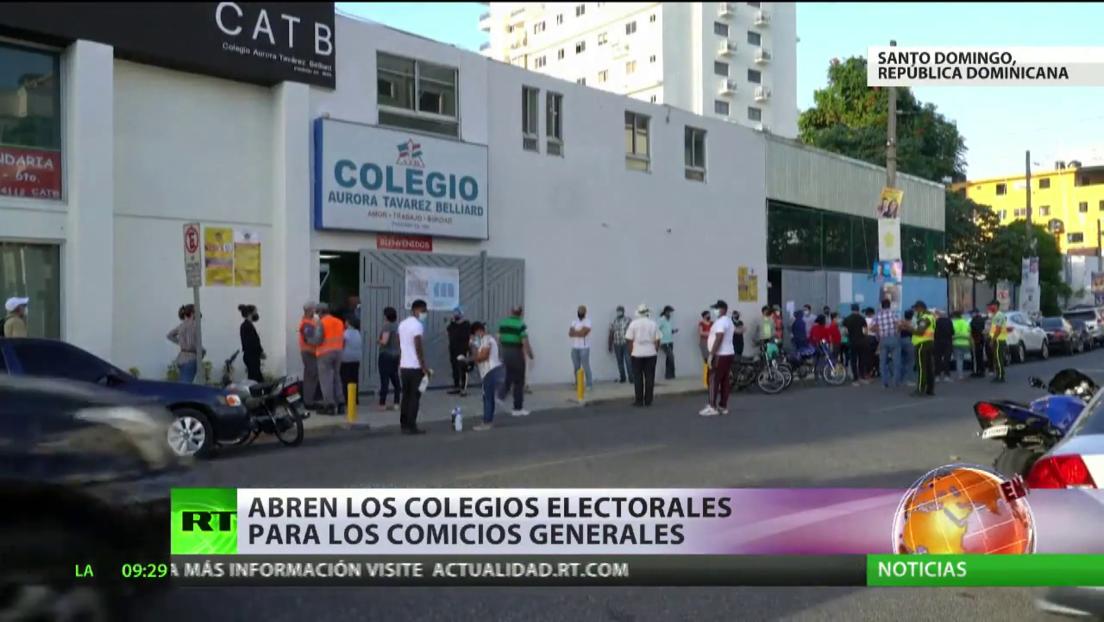 La República Dominicana celebra elecciones generales