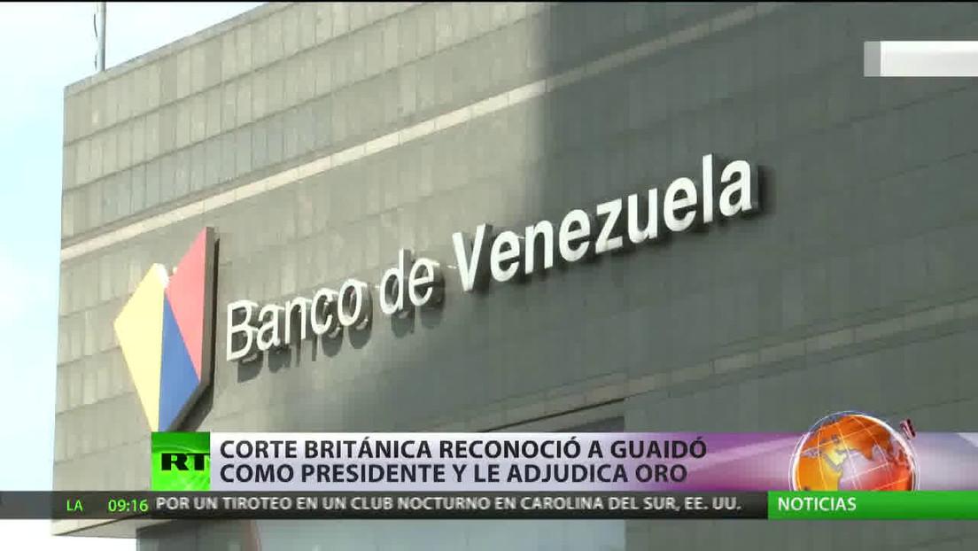 Corte británica deniega a Venezuela la devolución de oro para la compra de alimentos y medicinas