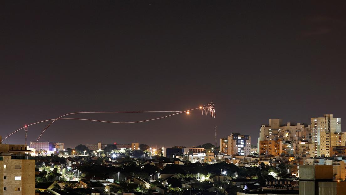 VIDEO: Israel ataca infraestructura subterránea de Hamás, en respuesta al lanzamiento de 3 misiles desde la Franja de Gaza