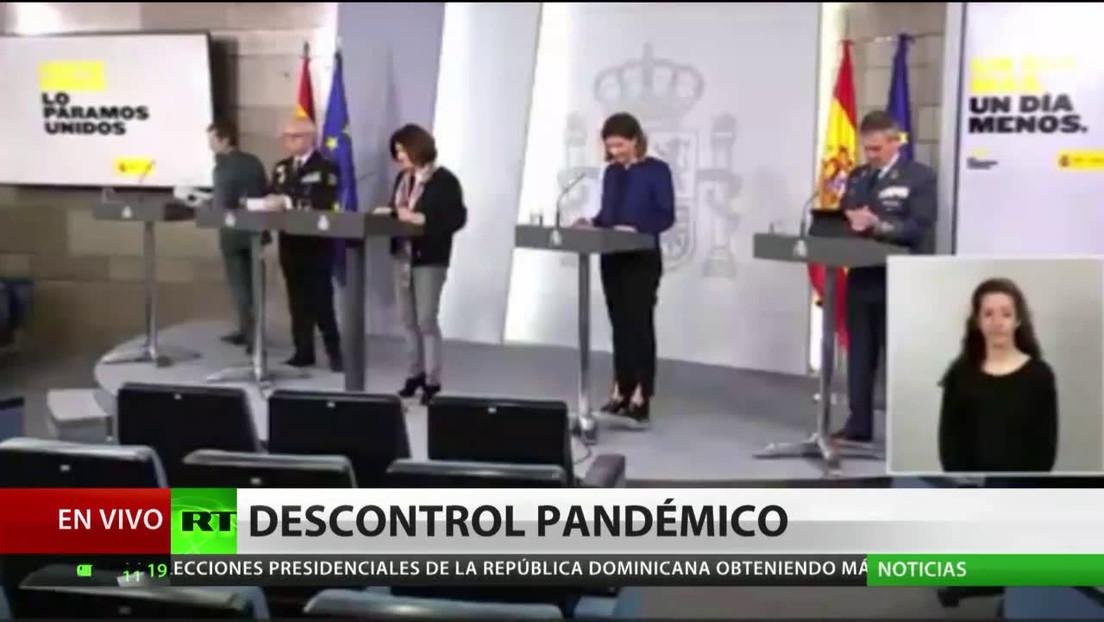 Reproches al Gobierno español por priorizar su imagen sobre la lucha contra el covid-19