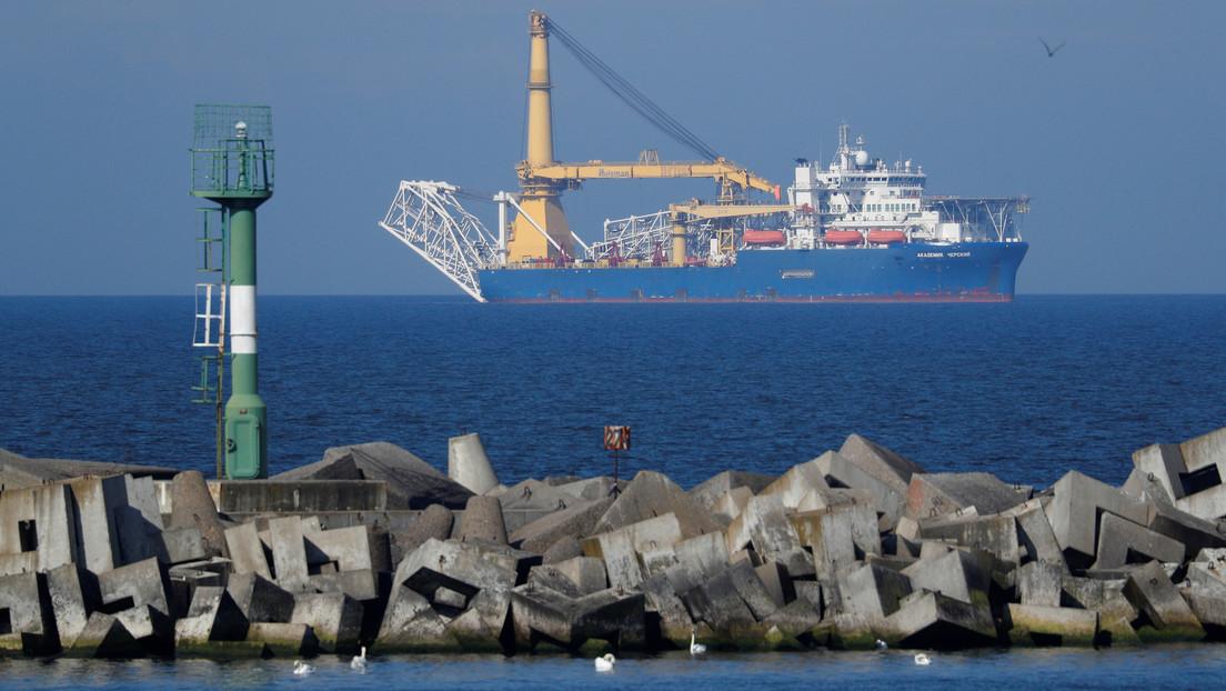 Dinamarca permite finalizar el Nord Stream 2 con el uso de buques de tendido de tuberías con anclas