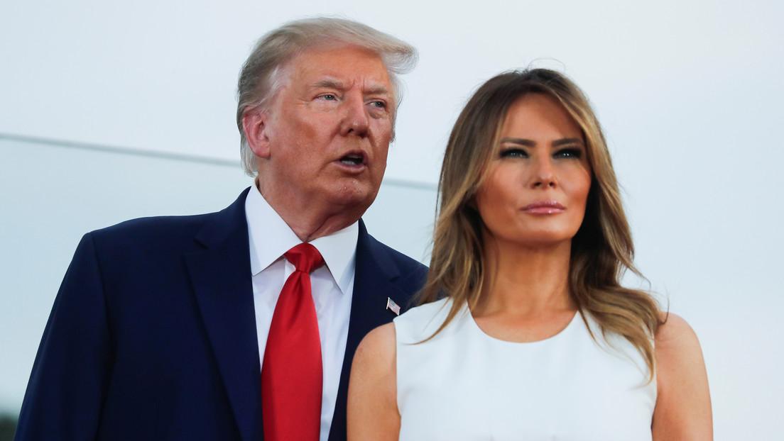 Trump comete un error durante la interpretación del himno nacional por el Día de la Independencia de EE.UU. (FOTO)