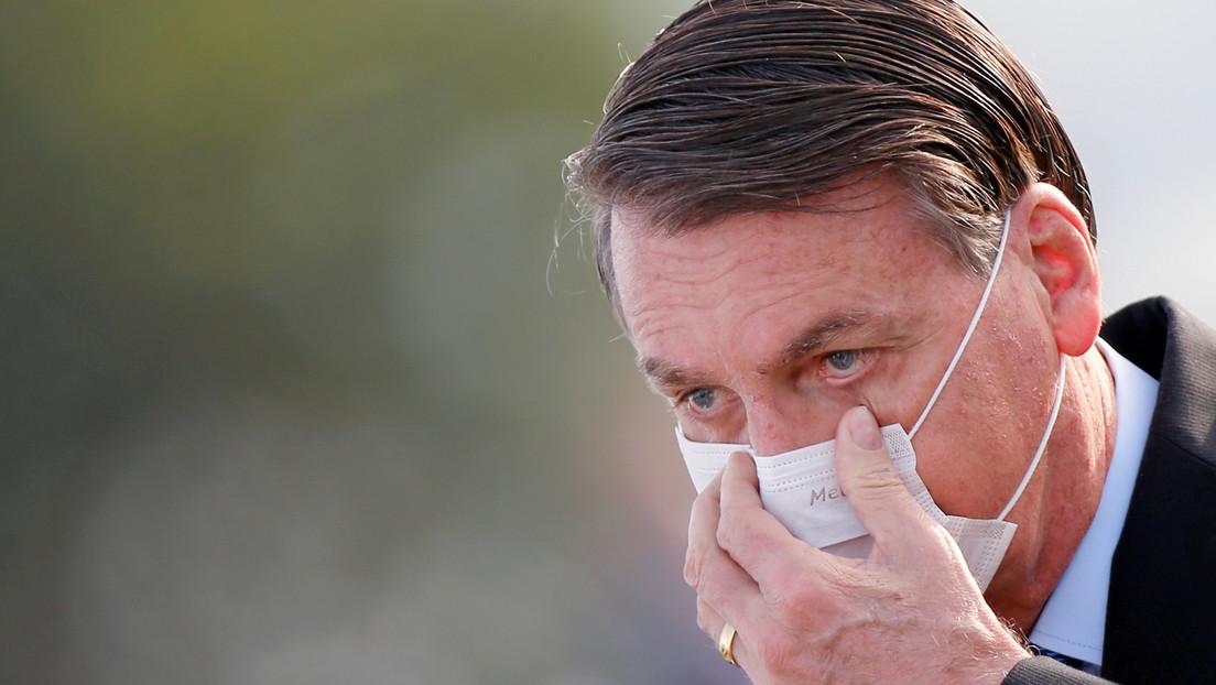Bolsonaro se somete a una nueva prueba de coronavirus tras realizarse un examen de pulmón