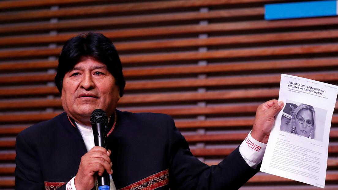 "Evo Morales alerta que pretenden imputarlo por terrorismo ""de manera ilegal e inconstitucional"""