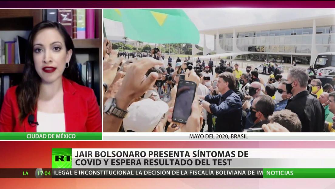 América Latina frente al covid-19: Bolsonaro presenta síntomas, México supera las 30.000 defunciones