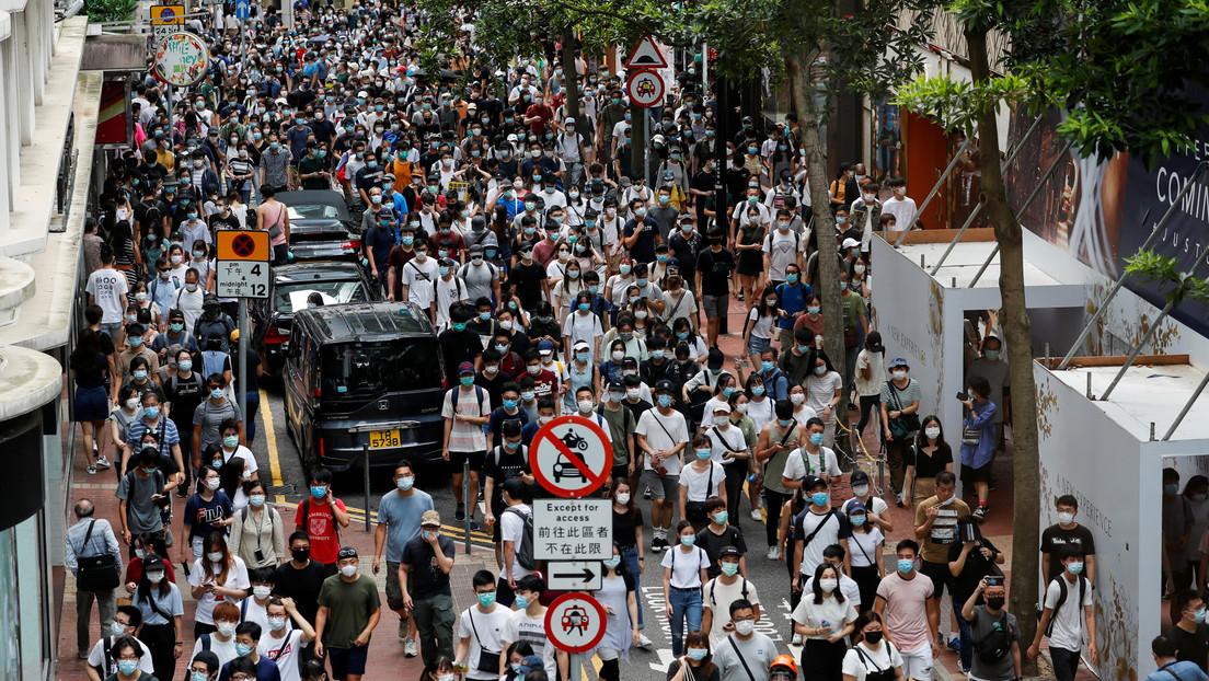 """Pompeo acusa a Pekín de imponer una """"censura orwelliana"""" en Hong Kong"""