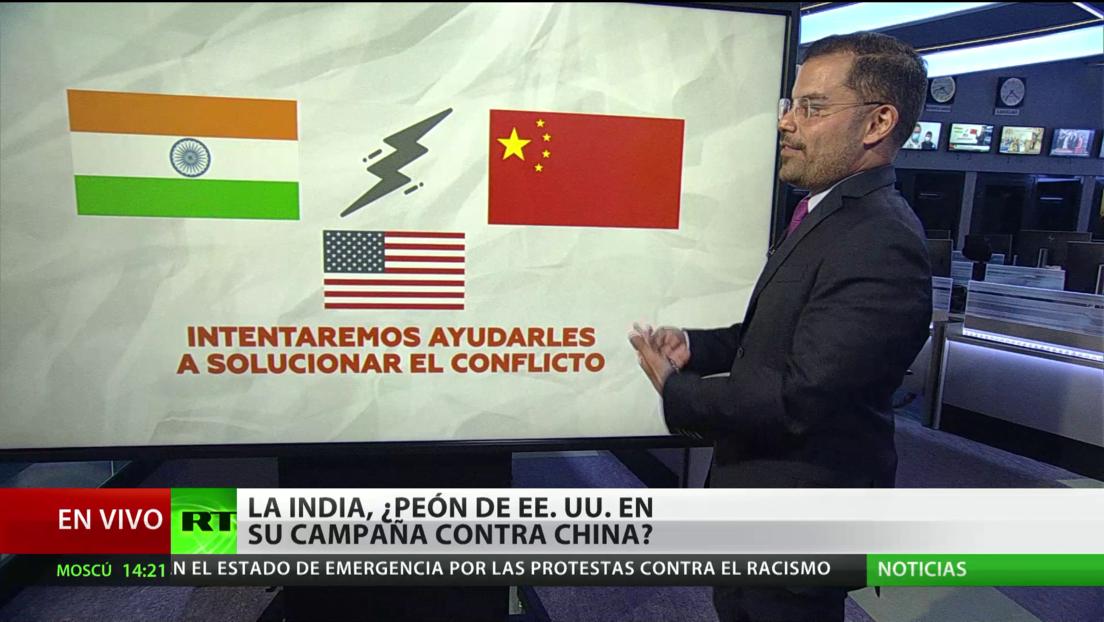 La India, ¿peón de Washington en su campaña contra Pekín?