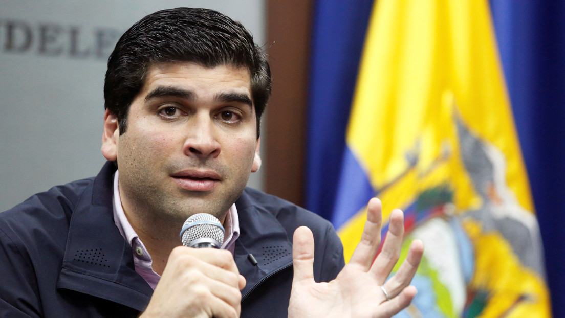 Dimite el vicepresidente de Ecuador, Otto Sonnenholzner