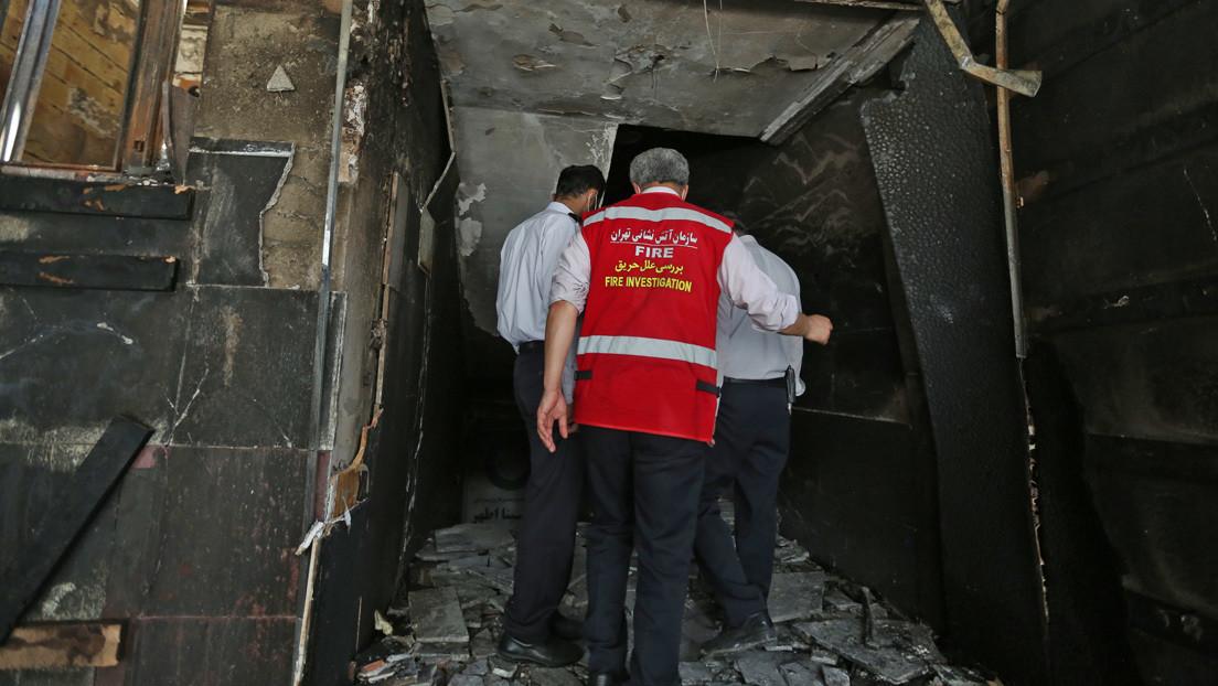 Una explosión en una fábrica deja 2 muertos y 3 heridos cerca de Teherán (VIDEO)