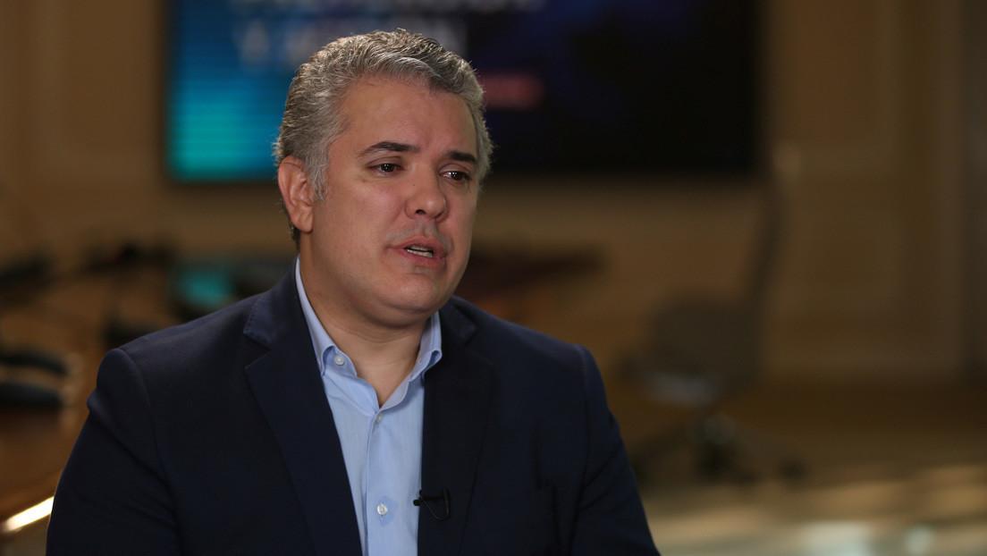 Presidente de Colombia se somete a nueva prueba de coronavirus tras contacto con un dirigente nacional que dio positivo
