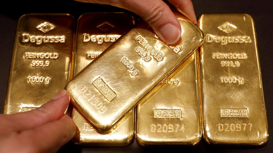 El precio del oro alcanza su nivel máximo desde 2011