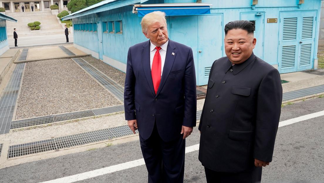 """Trump, sobre Kim Jong-un: """"Entiendo que quieren reunirse y ciertamente lo haríamos"""" thumbnail"""